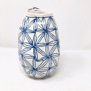 ANTHROPOLOGIE Keramisk Collection Patterned Vase